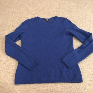 Cashmere by Charter Club blue sweater